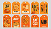 Baking labels set