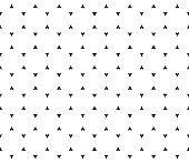 Simple minimalist seamless pattern, black and white