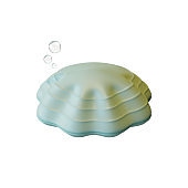 Clam 3D Rendering Illustration, suitable for world oceans day