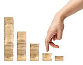 coin finance business money currency investment saving banking bank wealth cash growth gold financial