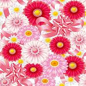 Floral wallpaper pattern. Seamless.
