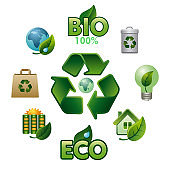 ecology glossy icons