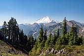 Mt Baker View from Artist Point in North Cascades National Park Washington USA
