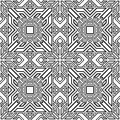 Seamless geometrical abstract background.
