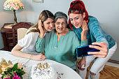 Senior women birthday party