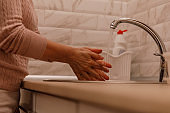 Preventing covid-19 from spreading by washing hands regularly