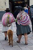 Women from Cusco, Peru