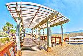 Beach Boardwalk Candy Color