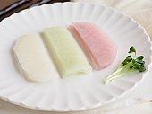 Korean food ssam radish, side dish