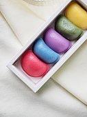 Korean food Songpyeon, rice cake, Five colors
