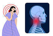 Spine or neck pain