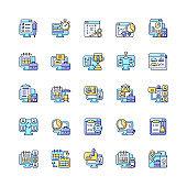 컴퓨터 업무 아이콘