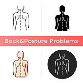 Good posture icon
