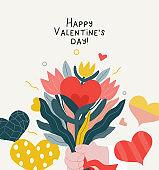 Bouquet - Valentine graphics