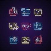네온 게임 아이콘