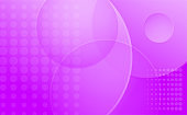 Abstract geometric screen saver with circles