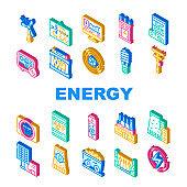 에너지 아이콘 모음