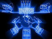 Computer network security firewall server internet cloud computing