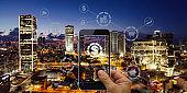 Fintech electronic banking mobile network technology