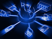Computer network internet cloud computing big data technology