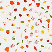 Autumn wallpaper, textile, decoration, texture, forest, print, pattern