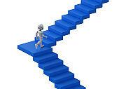 robot climb or walk upstaircaseÂ