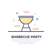 Barbecue Outline Icon