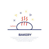 Bakery Outline Icon