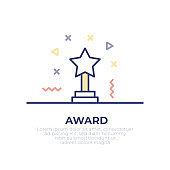 Award Outline Icon