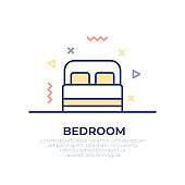 Bedroom Outline Icon