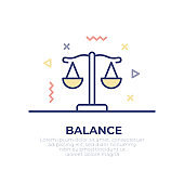 Balance Outline Icon
