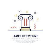 Architecture Outline Icon
