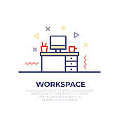 Workspace Outline Icon