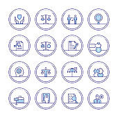 Business Ethics Icons