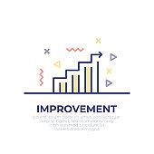 Improvement Outline Icon