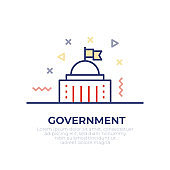 Government Outline Icon