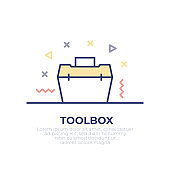 Toolbox Outline Icon