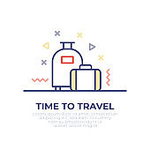Time to Travel Outline Icon