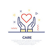 Caring Outline Icon