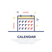 Calendar Outline Icon