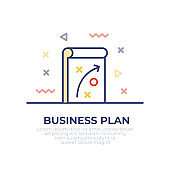 Business Plan Outline Icon