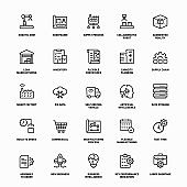 Industry 4.0 Line Icons
