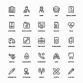 Healthcare Line Icons