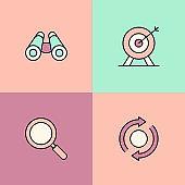 Core Values Multi Color Icons