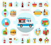 wagon full of tasty summer food