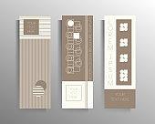 Banner cover design, flyer set of templates, brochure, booklet, catalog.