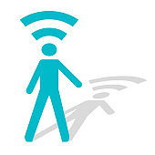 Human (wi-fi) connection
