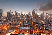 New York, New York, USA Midtown Manhattan Cityscape