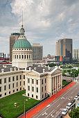 St. Louis, Missouri, USA Downtown Skyline