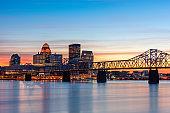 Louisville, Kentucky, USA Skyline on the River